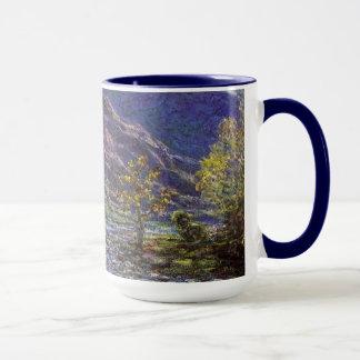 Zierliches Creuse, Sonnenlicht durch Claude Monet Tasse