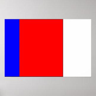 Zierliches Synthe Nord-Frankreich, Frankreich Plakatdrucke