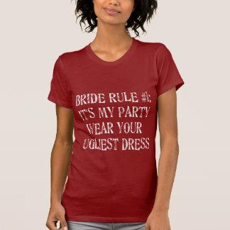 Zierliches T-Stück der Braut-Regel-#1 T-Shirt