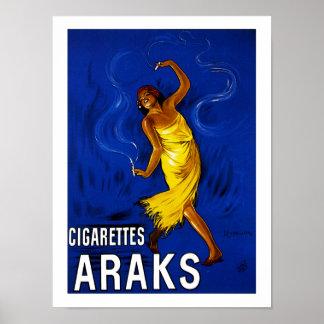Zigaretten Araks Posterdruck