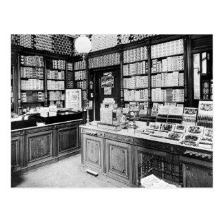Zigarren-Geschäft, 1895 Postkarte