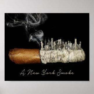 Zigarren-Kunst, New- York Cityplakat, Poster