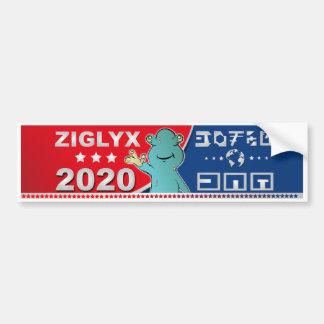 Ziglyx beste Wahl 2020 für Präsidenten von USA Autoaufkleber