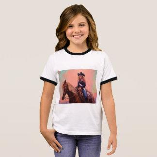 Zimt-Mädchen-T - Shirt