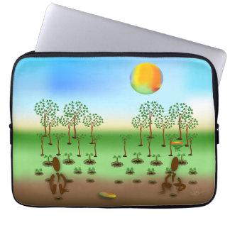 Zinglees ~ Bäume Laptop Sleeve