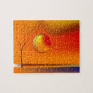 Zinglees ~ großer Sun Puzzle