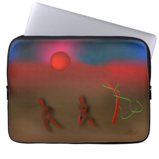 Zinglees ~ stürmisch laptop sleeve