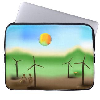 Zinglees ~ Wind Laptop Sleeve