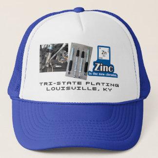 ZINK IST DER NEUE CHROM-/SCHOCK-FERNLASTFAHRER-HUT TRUCKERKAPPE