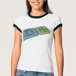 Zinke als Ti-Titan und Ne-Neon T-Shirt