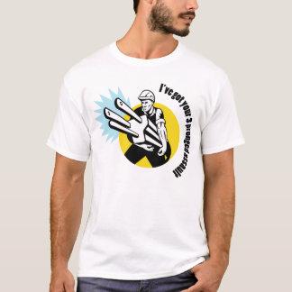 zinkiger Angriff 3 nach rechts hier T-Shirt