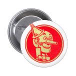 Zinn-Mann, Zauberer von Oz Runder Button 5,1 Cm