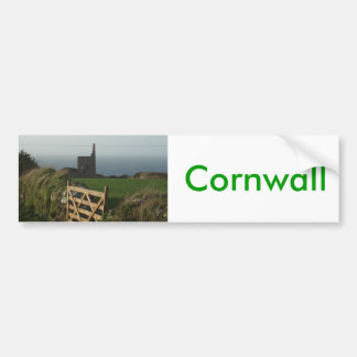 Zinnbergwerk Cornwall Autoaufkleber