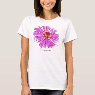Zinnia-T-Stück T-Shirt