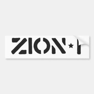 Zion-i einfach autoaufkleber