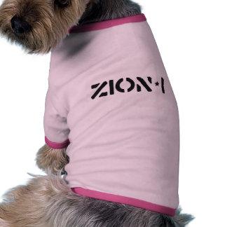 Zion-i einfach hund t shirt