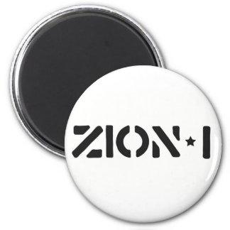Zion-i einfach runder magnet 5,7 cm