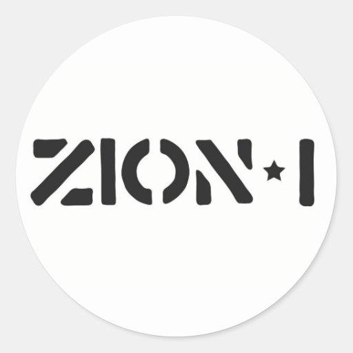 Zion-i einfach stickers