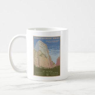 Zion Nationalpark-Plakat-Tasse Tasse