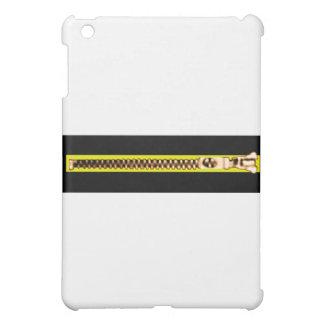 Zipper schwarzes gelbes Kupfer ah das MUSEUM Zazzl iPad Mini Schale