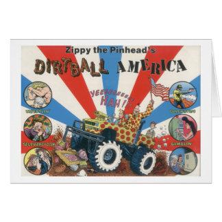 Zippys Dirtball Amerika Notecard Karte