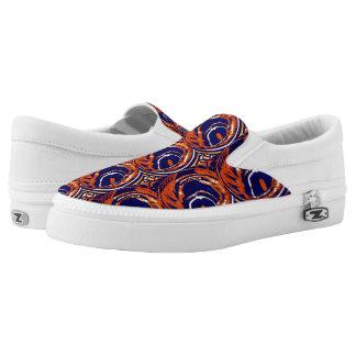 Zipz Beleg auf Schuhen (Chicago) Slip-On Sneaker