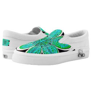 Zipz Beleg auf Schuhen (Emily) Slip-On Sneaker