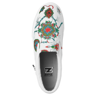 Zipz Beleg auf Schuhen Slip-On Sneaker