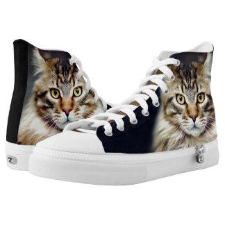 Zipz hohe Spitzenschuhe Hoch-geschnittene Sneaker