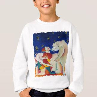 Zirkus-Eisbären Sweatshirt