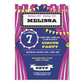 Zirkus-Karnevals-Geburtstags-Party-Spaß-Zelt laden Karte