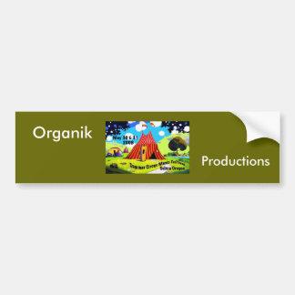 Zirkus-Logo, Organik, Produktionen Autoaufkleber
