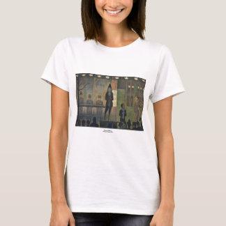Zirkus-Nebenaufführung durch Georges Seurat 1887 T-Shirt