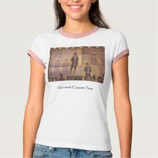 Zirkus-Nebenaufführung durch Georges Seurat T-Shirt