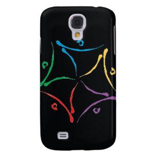 Zirkus schwarzer iPhone 3 Mittelkasten Galaxy S4 Hülle