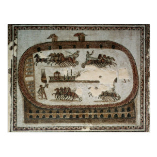 Zirkus-Spiele, von Karthago, römisch Postkarte
