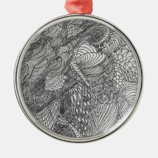 Zirkus-Traum Silbernes Ornament