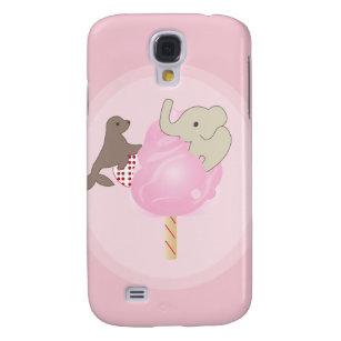Zirkus-ungesunde Fertigkost iphone 3 Fall Galaxy S4 Hülle