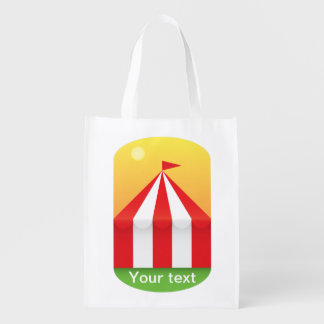 Zirkus Wiederverwendbare Einkaufstasche