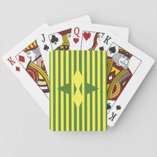Zirkus-Zelt-Diamanten Spielkarten