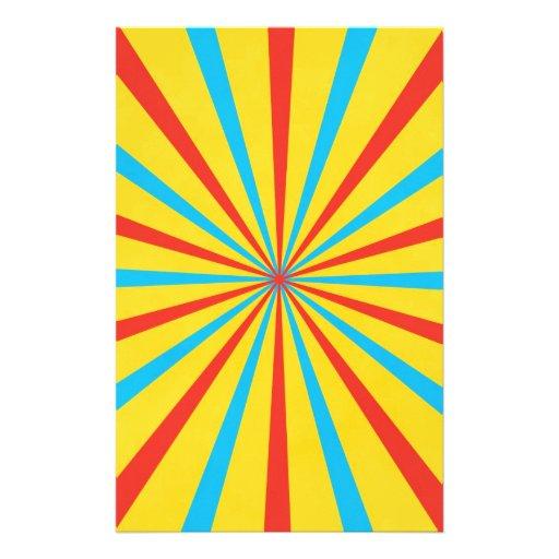 zirkus zelt muster bedrucktes papier zazzle. Black Bedroom Furniture Sets. Home Design Ideas