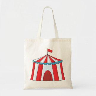 Zirkus-Zelt-Taschen-Tasche Budget Stoffbeutel