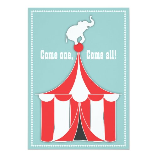 Elefant Kindergeburtstag Party Einladung ...