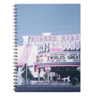 Zirkus-Zirkus Las Vegas Spiral Notizblock