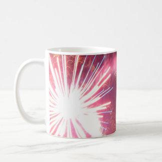 Zischen und Blitz Kaffeetasse