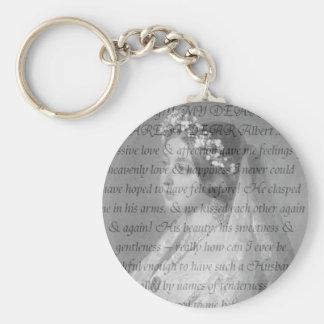 Zitat der Königin-Victoria Schlüsselanhänger