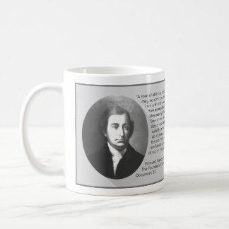 Zitat Edmund Randolph Kaffeetasse