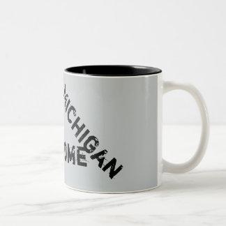 Zitat-Kaffee-Tasse Michigans fantastische Zweifarbige Tasse