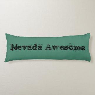 Zitat-Körper-Kissen Nevadas fantastisches Seitenschläferkissen