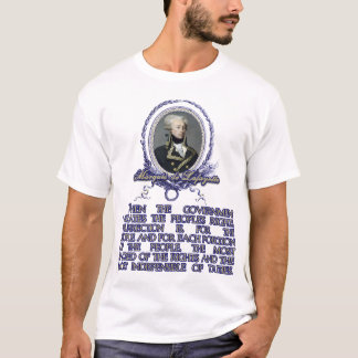 Zitat Marquisdes Lafayette auf Aufstand T-Shirt